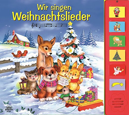 Weihnachtslieder-Tonleistenbuch