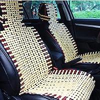 Cubierta de asiento cómoda transpirable del verano del amortiguador de asiento de carro del bambú natural