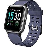 YAMAY Smartwatch Orologio Fitness Uomo Donna Impermeabile IP68 Activity Tracker Cardiofrequenzimetro da Polso Contapassi per