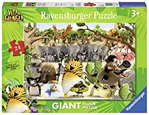 Ravensburger- Puzzle Suelo Giant 24 Piezas, La Panda de la Selva (5495)