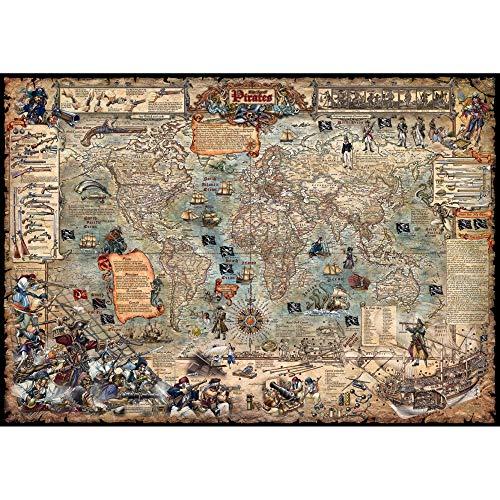 The Age of Pirates, Planokarte