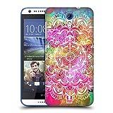 Head Case Designs Wasserfarben Mandala Doodle Ruckseite Hülle für HTC Desire 620/620 Dual SIM