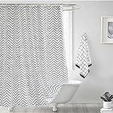 Yulian Duschvorhänge Bad duschvorhang tuch wasserdicht form verdickung bad vorhang trennvorhang vorhang (breite x hoch cm) Hochwertige Duschvorhänge (größe : 220*200cm)