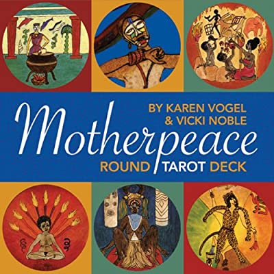 Mini-Motherpeace Round Tarot Deck