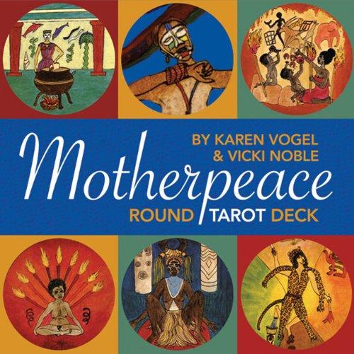 Mini Motherpeace Round Tarot Deck (Cards)