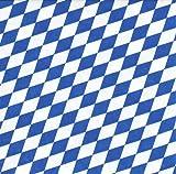 20 Servietten Bayernraute / Raute / Bayern / bayrisch / Oktoberfest 33x33cm