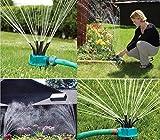 Wtank 360gradi multi-versatile prato spruzzatore irrigatori acqua (colore casuale)
