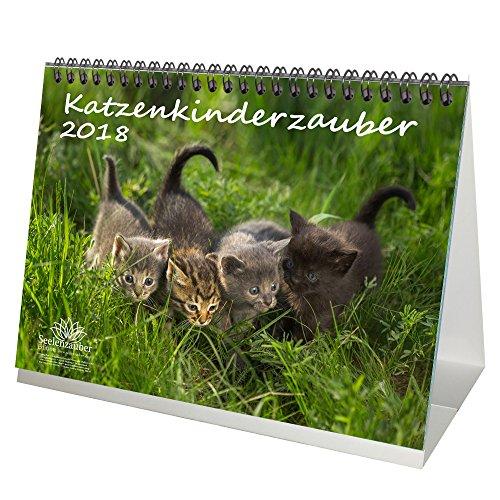 Premium Kalender 2018 · DIN A5 · Katzenkinderzauber · Katzenkinder · Katzenbabys · Katzen · Stubentiger · Tier · Edition Seelenzauber
