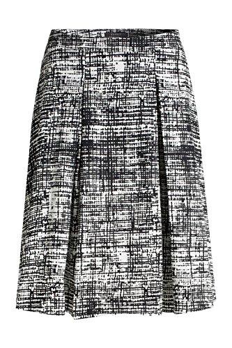 ESPRIT Collection Damen Rock Weiß (OFF WHITE 2 111)