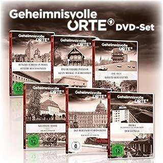 6er DVD-Set Geheimnisvolle Orte - Hitlers Schloss in Posen / Das russische Potsdam / Die Avus / Neustadt Dosse / Berliner Stadtschloss / Prora