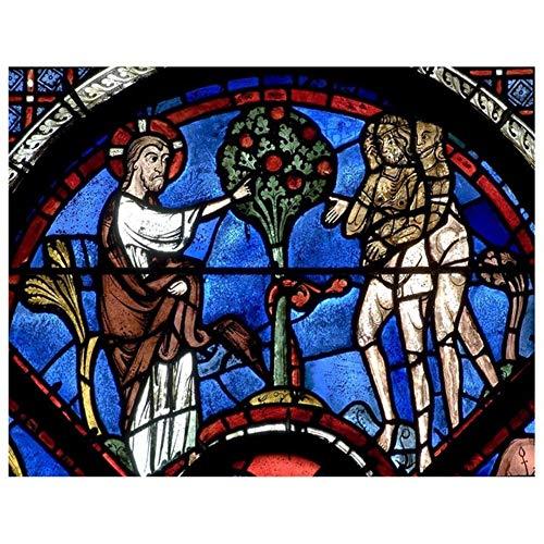 5D Diy Diamante Pintura 3D Bordado Diamante de Dibujos Animados Religioso Jesús Pintura Diamante de punto de Cruz Mosaico Decoración Para El Hogar, 40X50cm
