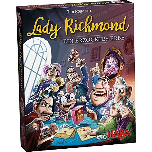 HABA 302355 - Lady Richmond Erzocktes Erbe Spiel