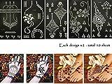 Henna Tattoo Schablone Vorlage 10 Sheet Neelia
