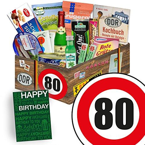 Geschenk Spezial | Ostalgie Geschenkset L | Geburtstag 80 | Geschenke Mutter