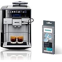 Siemens EQ.6 plus s700 Kaffeevollautomat TE657503DE, automatische Reinigung, Direktwahl + Entkalkungstabletten TZ80002A…