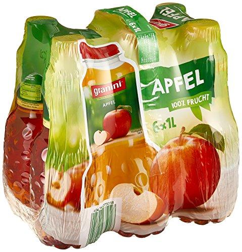 Granini Trinkgenuss Apfel klar, 6er Pack (6 x 1 l) (Apfelsaft 1 Liter)