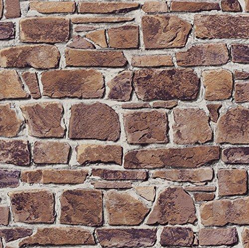 rasch-402612-papier-peint-en-relief-avec-motif-pierre-naturelle-marron-classique-import-allemagne