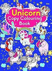 Copy Colouring Book Unicorn