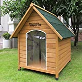 Kennels Imperial® Medium Wooden Sussex Dog Kennel With Removable Floor For Easy Cleaning B
