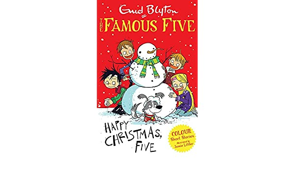 buy famous five colour short stories happy christmas five famous five short stories book online at low prices in india famous five colour short