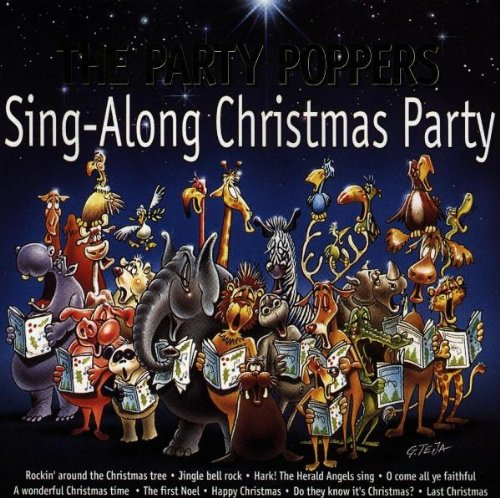 Sing-Along Christmas Party (Party Poppers Weihnachten)