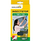 Schellenberg 50713 nylon horrengaas, muggen en insectengaas inclusief bevestigingstape, bevestiging zonder te boren, 100 x 13