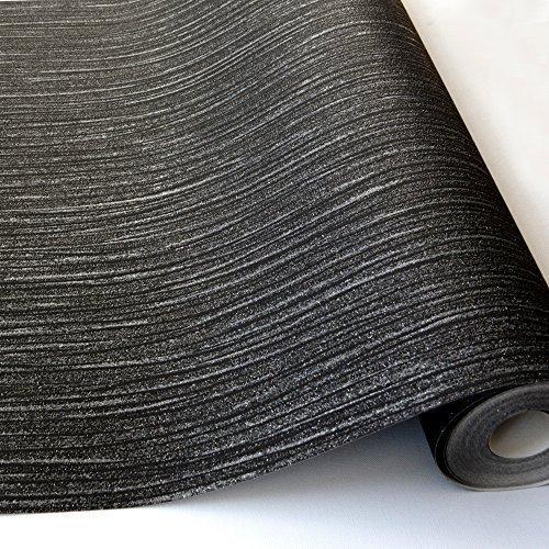 grandeco-ideco-glitz-glitter-striped-pattern-embossed-vinyl-wallpaper-black-a11404