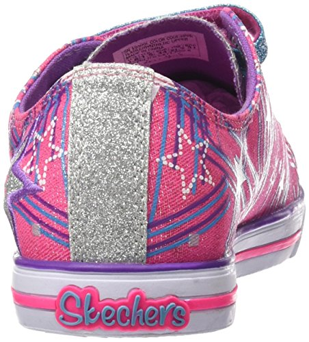 Skechers Chit Chat-Skipping Stars, Chaussures de Sport Fille HPPR