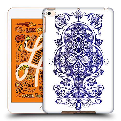sthetik Kreuz Luxuriöse Ornamente Harte Rueckseiten Huelle kompatibel mit iPad Mini (2019) ()