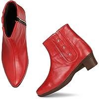 FURIOZZ Zipper Boots for Women and Girls