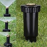 PerGrate 90/180/360 Grad Pop Up Sprühkopf Einstellbare Sprinkler Düse für Bewässerung Rasen Garten Bewässerung