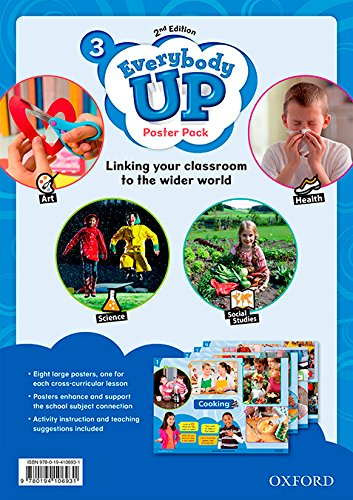 Everybody Up! 3. Posters 2nd Edition (Everybody Up 2nd Edition)