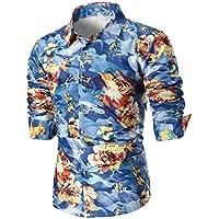 Ropa Hombre Camisetas, ❤️Zolimx Camiseta con Conjuntos Manga Larga para Hombre Tallas Grandes Blusas