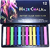 Haar Kreide Haarfarb Haarkreide Färben Haartönung 12 Farben Hair Chalks