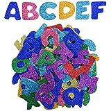 eBoot Auto-adhésif D'Autocollants Alphabet Mousse Lettres, Lettre de A à Z, 5 Ensembles, Couleurs Assorties, Totalement 130 Pièces
