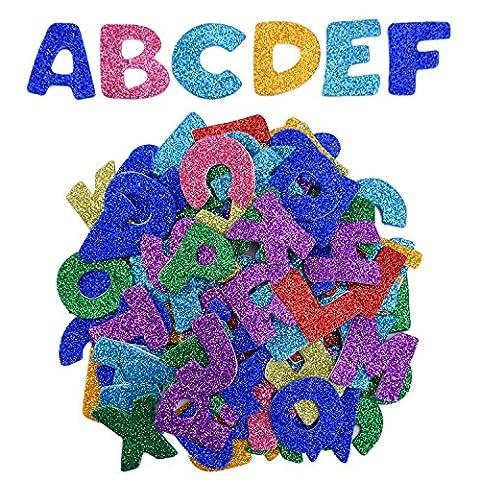 eBoot Auto-adhésif D'Autocollants Alphabet Mousse Lettres, Lettre de A à
