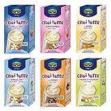 Krüger Chai Latte 6er Set II, mildes Milchtee Getränk, Milch Tee, sechs unterschiedliche Sorten