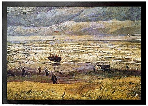 Vincent Van Gogh - Vista Del Mar En Scheveningen, 1882 Felpudo Alfombr