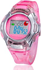 Voberry Sports Digital Led Watches Alarm Date Rubber Wrist Watch