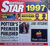 1997 Birthday Gifts - 1997 Chart Hits CD and 1997 Birthday Star Card