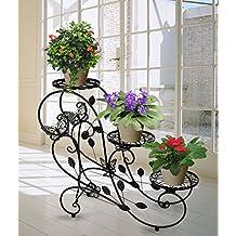 etagere plantes fer forge. Black Bedroom Furniture Sets. Home Design Ideas