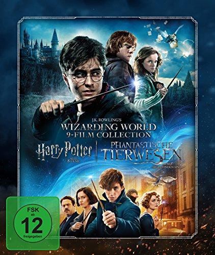 Wizarding World 9-Film Collector's Edition als Steelbook: Alle Harry Potter Filme und Phantastische Tierwesen in einer Sammelbox inkl. Sammelkarten (Limited Edition exklusiv bei Amazon.de) [Blu-ray]