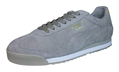 arrives b6266 51155 Puma Roma Suede NM Mens Leather Trainers / Shoes-Taupe-10.5 ...
