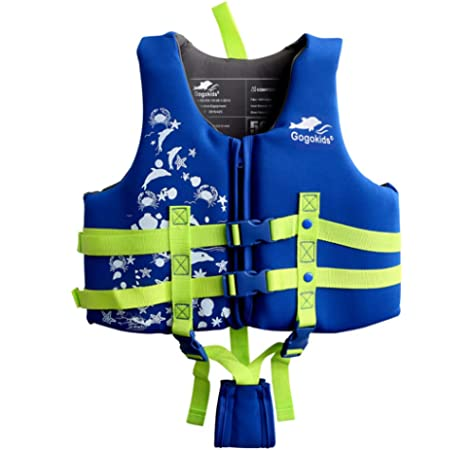 UK HOT Children Swim Fashion Aid Vest Jacket Floating Wear Life with Arm Bands