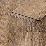 Vinylboden Sandeiche 211 braun Klicksystem Holzstruktur 4,5mm Vinyl Bodenbelag fürs Bad TAMI