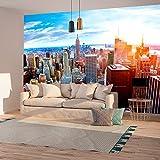 murando - Fototapete New York 400x280 cm - Vlies Tapete - Moderne Wanddeko - Design Tapete - Wandtapete - Wand Dekoration - Stadt City New York d-B-0188-a-a