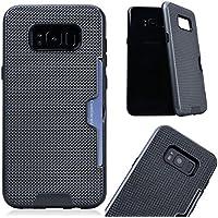 VemMore Samsung Galaxy S8 Hülle Case Handyhülle Ultra Slim Dünn Soft Flexibel Silikon TPU Case Bumper mit Kartenfach... preisvergleich bei billige-tabletten.eu