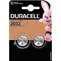 2x Duracell 2032 CR2032 DL2032 Button Coin Cell Car Alarm Lithium Batteries