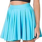 Falda De Las Mujeres Una Falda Mini Esencial Línea Falda Plisada Color Sólido Faldas Ocasionales Mujeres Casual Moda Joven Fa