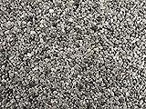 Natursteinteppich-Fliese Classic Line Bardiglio - flexible Bodenfliese für Innen und Außen aus italienischem Marmorkies, Teppichfliese, Marmorteppich, Terassenboden, Poolumrandung - 1m² Paket (4 Stück 50x50 cm)